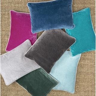 Porch & Den Montclair Velvet Throw Pillow