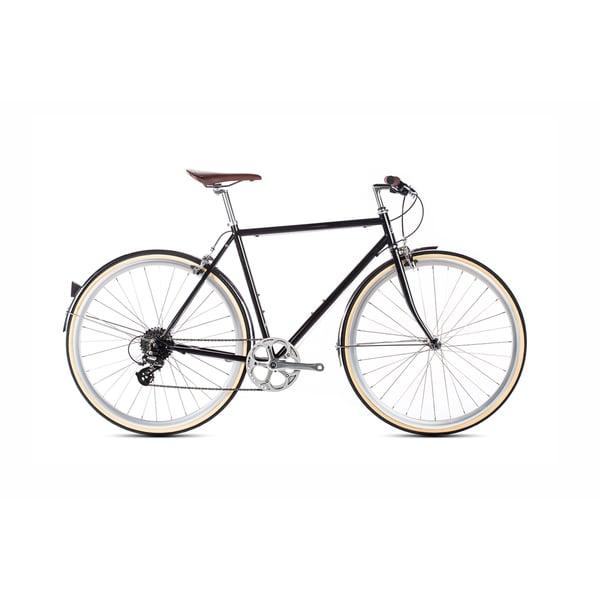 6KU Delano Men's Hybrid Shimano Steel 8-speed Bike