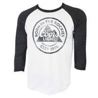 Coors Light Raglan Sleeve T-Shirt