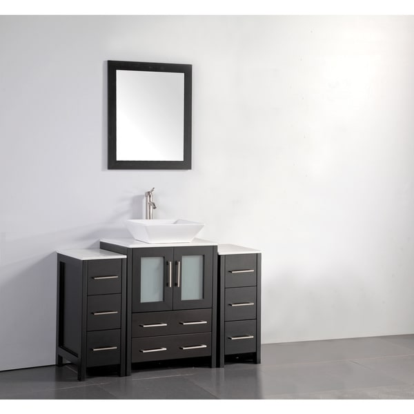 Shop Vanity Art 48 Inch Single Sink Bathroom Vanity Set ...