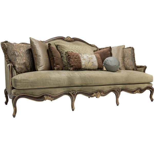 Safavieh Couture High Line Collection Endora Antique Green Sofa