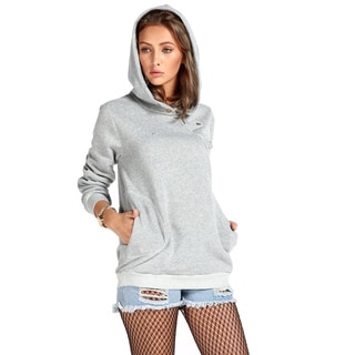 Women's, Grey, Pullover Hoodie