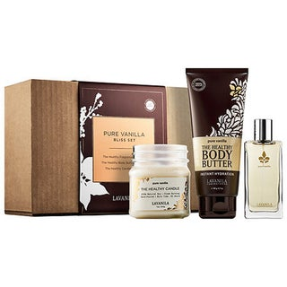 Vanilla Bliss Fragrance, Body Butter, and Candle (3-piece Set)