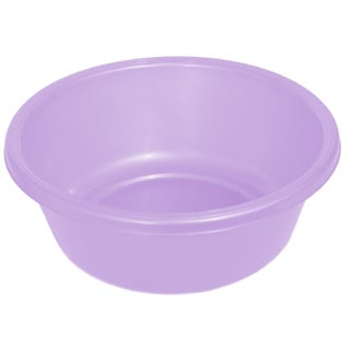 YBM Home Portable Round Wash Basin - 4 x 9 (Option: Purple)