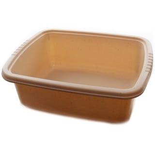 YBM Home Solid Plastic Dish Pan Basin