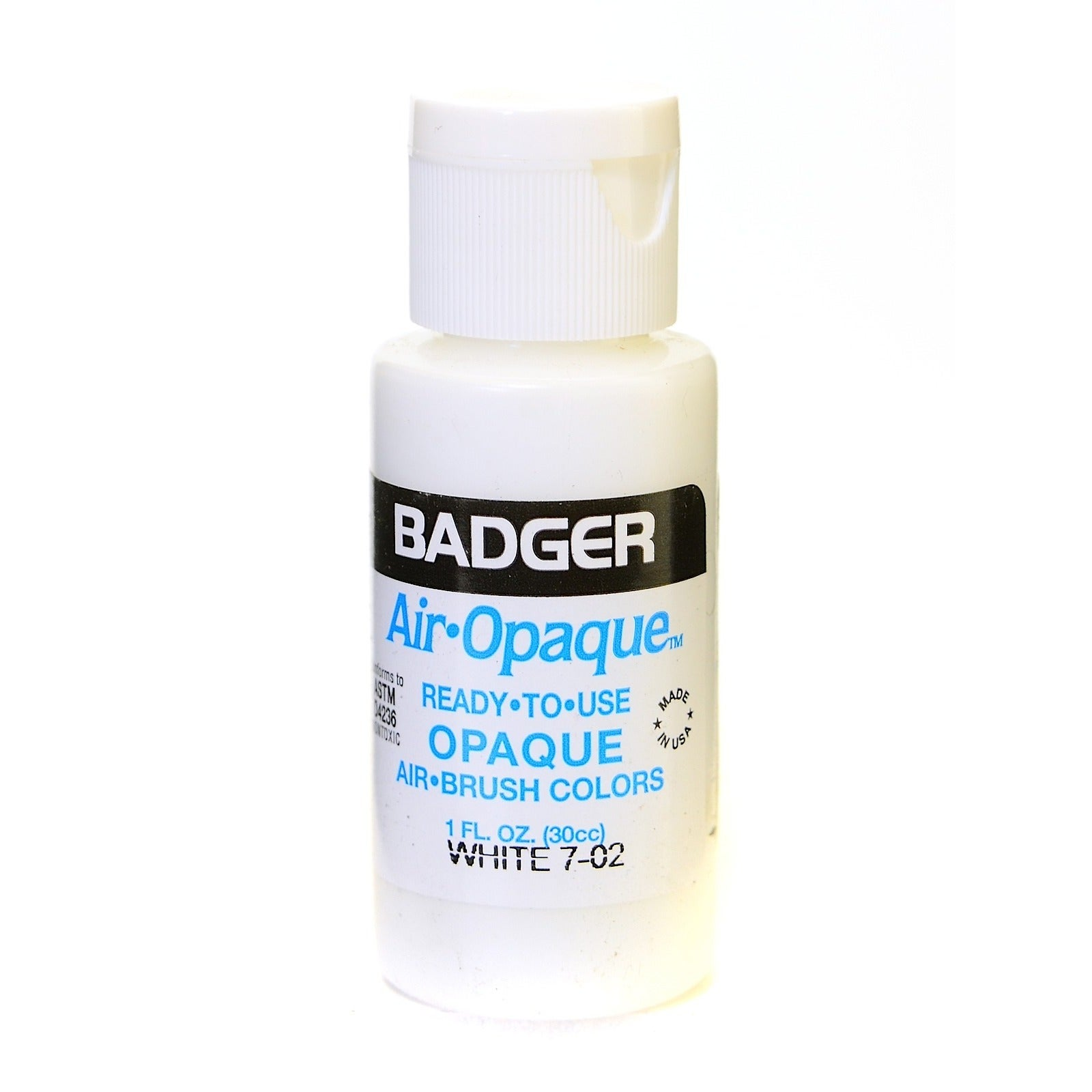 Badger Air Opaque Airbrush Color [Pack of 5] (7-02-5), White