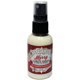 Poo-Pourri 2-ounce Merry Spritzmas Vanilla Peppermint Scent