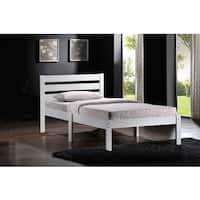 White Acme Furniture Donato Twin Bed
