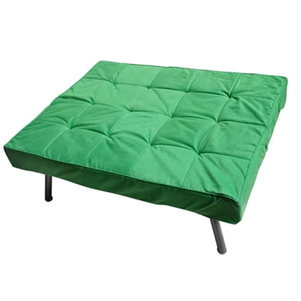 Pleasing The College Spring Green Cozy Mini Futon Sofa Machost Co Dining Chair Design Ideas Machostcouk