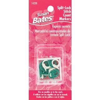 Split Lock Stitch Markers-2 Sizes 15/Pkg