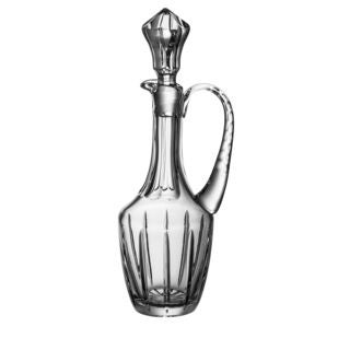 Majestic Gifts Clear Crystal Wine Decanter with Handle