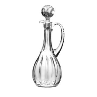 Majestic Gifts Clear Hand-cut Crystal 46-ounce Oversized Wine Decanter With Handle