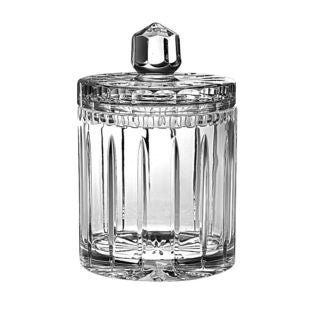 Majestic Gifts Hand-cut Crystal 8-inch High Biscuit Jar/Candy Box