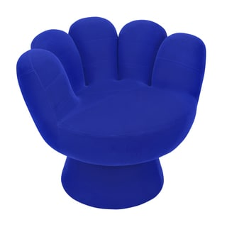 LumiSource Mitt Plush Flock Lounge Chair