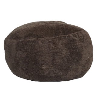 The Coma Inducer - Memory Foam Bean Bag Chair - Walnut