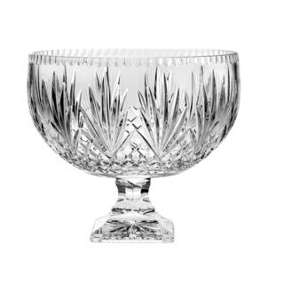 Majestic Gifts Clear Crystal Punch Bowl