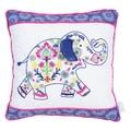 Trend Lab Waverly Baby Santa Maria Henna Elephant Decorative Pillow
