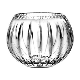 Majestic Gifts 7-inch Diameter Hand-Cut Crystal Rose Bowl, 7'D