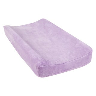 Trend Lab Lavendula Lavender Microplush Changing Pad Cover