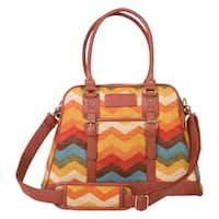Trend Lab Waverly Baby Panama Wave Adobe Carryall Diaper Bag