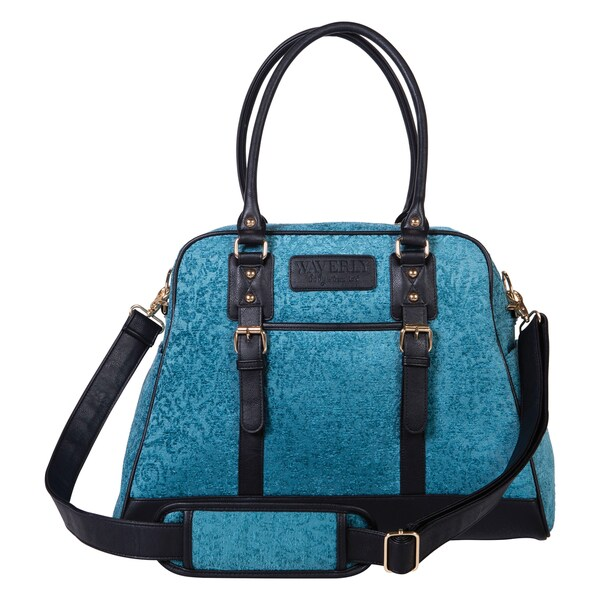 Trend Lab Waverly Baby Stetson Lagoon Carryall Diaper Bag
