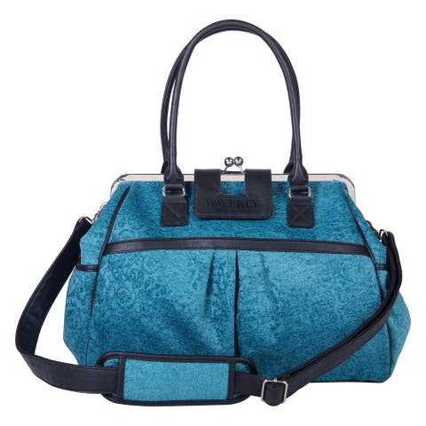 Trend Lab Waverly Baby Stetson Lagoon Framed Diaper Bag