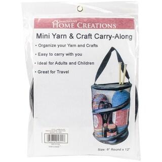 "Mini Yarn & Craft Carry-Along 8""X12""-Black"