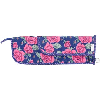 "Everything Mary Needle And Crochet Hook Case-15""X1""X5"" Rose Print"