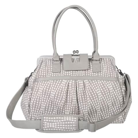 Trend Lab Waverly Baby Strands Sterling Framed Diaper Bag