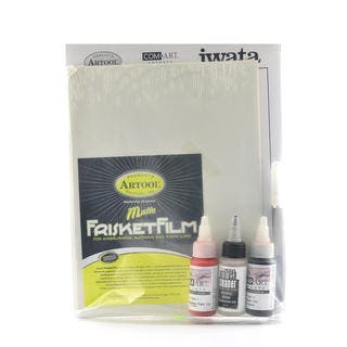 Basic Airbrush Techniques Excercise Kit|https://ak1.ostkcdn.com/images/products/13786719/P20437883.jpg?impolicy=medium