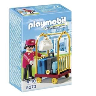 PlayMobil PM5270 5270 Porter with Baggage Cart