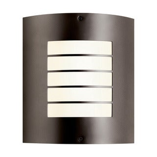 Kichler Lighting Newport Collection 1-light Architectural Bronze indoor/Outdoor Wall Sconce