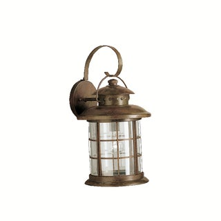 Kichler Lighting Rustic Collection 1-light Rustic Outdoor Wall Lantern