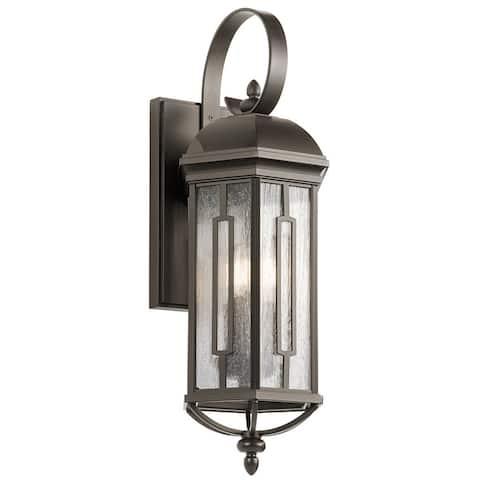 Kichler Lighting Galemore Collection 3-light Olde Bronze Outdoor Wall Lantern
