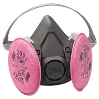 3M Half Facepiece Respirator 6000 Series, Reusable