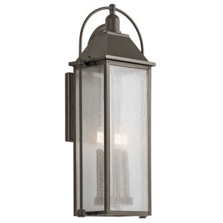 Kichler Lighting Harbor Row Collection 4-light Olde Bronze Outdoor Wall Lantern