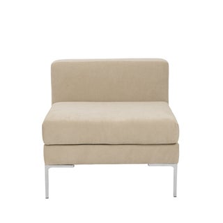 Vittorio Tan Armless Sofa