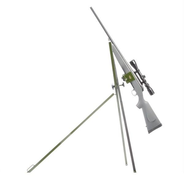 Hyskore Green Steel Vise Grip Field Shooting Support