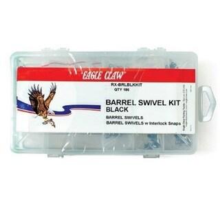 Eagle Claw Barrel Swivel Kit (186-piece Kit)