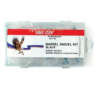 Eagle Claw Barrel Swivel Kit (186-piece Kit)