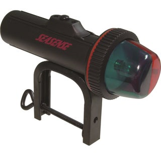 Unified Marine Black Portable Clamp-on Combination Bow Light