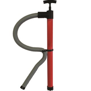 Unified Marine SeaSense Red Polypropylene Hand Bilge Pump with 72-inch Hose