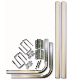 Unified Marine SeaSense White Aluminum 60-inch Trailer Guide Pole Kit