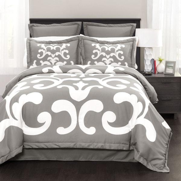 Lush Decor Lavish Damask 6-piece Comforter Set