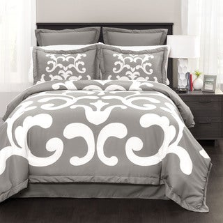 Lush Decor Lavish Damask 6-piece Comforter Set