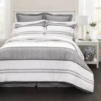 Lush Decor Hena Stripe 6-piece Comforter Set