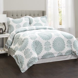 Lush Decor Evelyn Medallion 4-piece Comforter Set (2 options available)