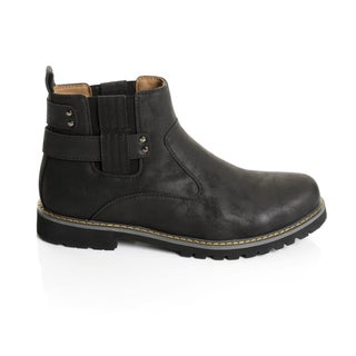 Black Men's Boots - Overstock.com Shopping - Footwear To Fit Any ...