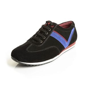 Solo Men's Faux-suede Lace-up Athletic Shoes