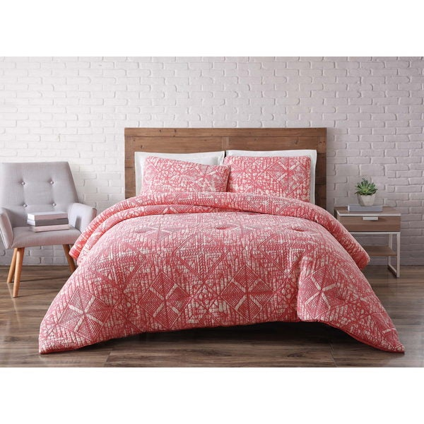 31c5a0200db Shop Brooklyn Loom Sand Washed Cotton Comforter Set - On Sale - Free ...